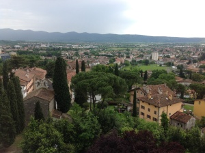 Views of Gorizia from the Castello.
